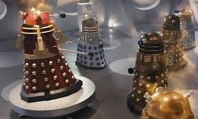 The shiny new Dalek/Time Lord hybrids were ultimately defeated by the enemy within: their own dung.